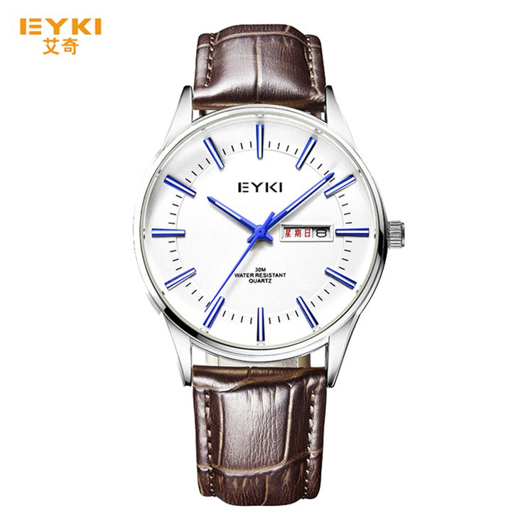 Man Watches Simple Big Dial Vintage Leather Strap Meskie Zegarki Water Resistant Luminous Analog Dial Wristwatch orologio Gifts