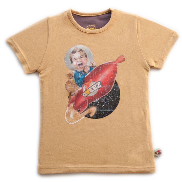 Oteez shirt Rocket bij Coole Kinderkleertjes