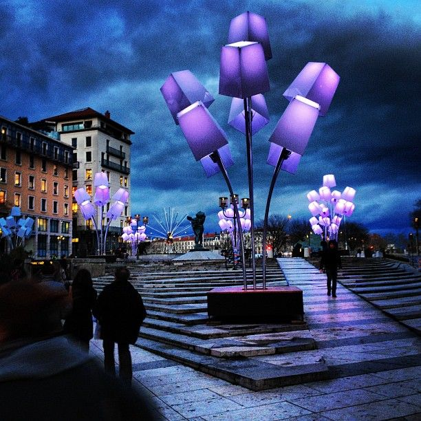 Photo by bunnyhammer Fête des Lumières, or the Festival of Lights, takes place…