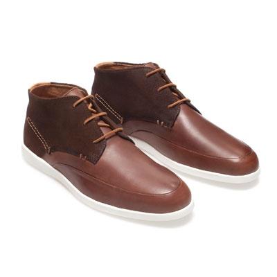 BOTÍN COMBINADO PIEL - Zapatos - Hombre - ZARA Colombia