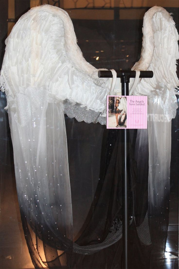 Fashion on Facebook   Victoria's Secret Wings! NYC                                                                                                                                                                                 More