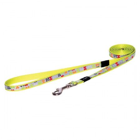 Rogz Lapz Trendy dog lead 180 cm Multi - Medium