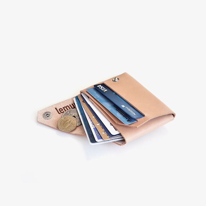 Lemur Wallet 2 in Natural Color (The Loppist Exclusive)