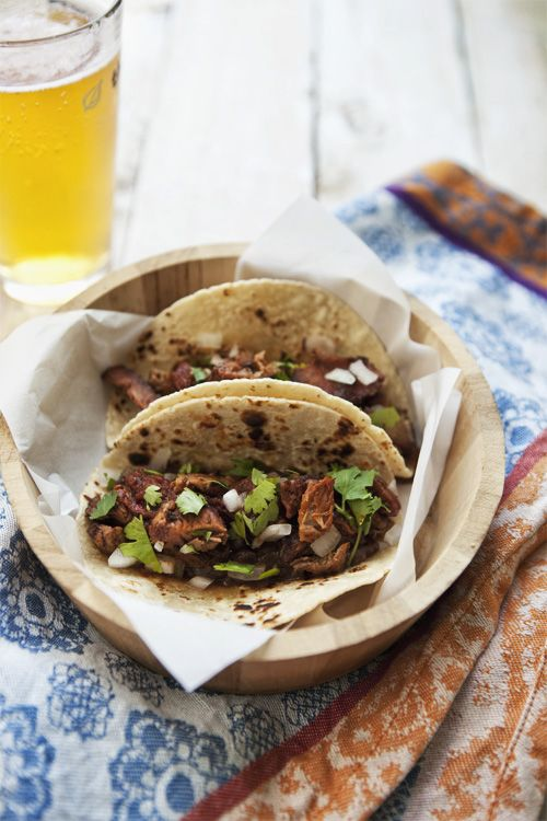 Barbacoa Tacos A smoked and slow roasted barbacoa recipe, Americanized only by the use of a smoker and a readily available chuck roast cut.