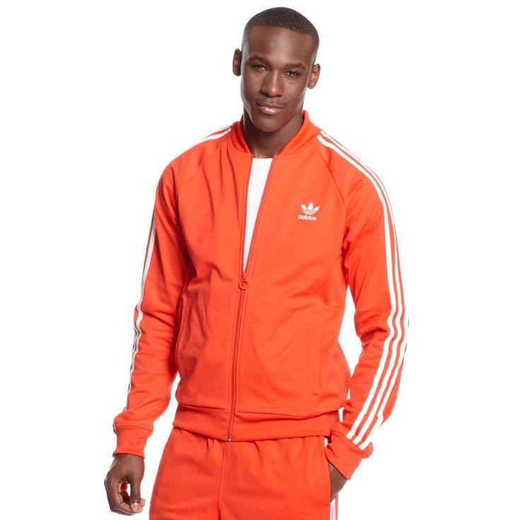 adidas Originals Superstar Track Jacket and Pants - Orange.