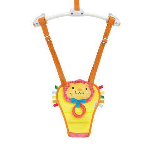 Columpio saltador amarillo con león para bebé de Munchkin