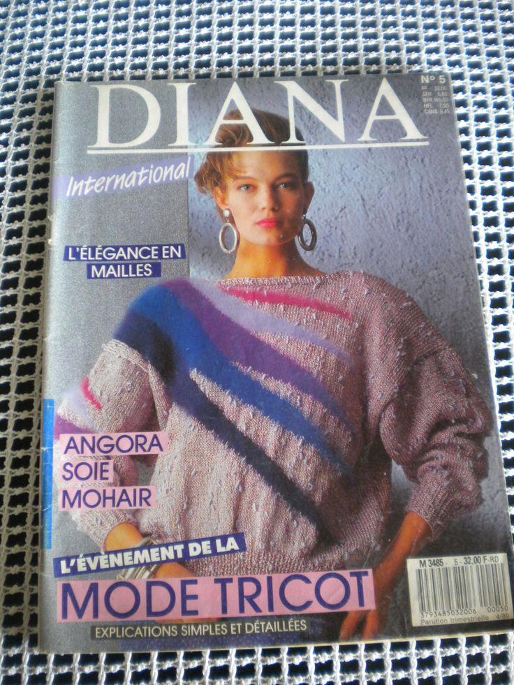 Catalogue des Pulls Tricot DIANA : Matériel Tricot par l-atelier-de-nanie-tricot