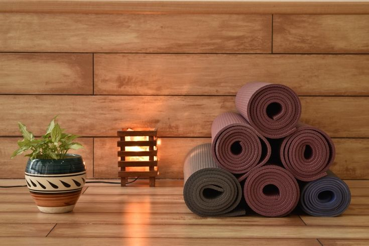 Wooden Flooring At Elate Wellbeing Lounge Life N Colors Is Proud To Install Luxury Wallpapers And Wooden Fl Luxury Wallpaper Wooden Flooring Meditation Studio
