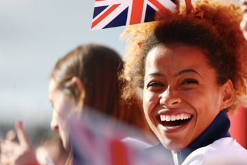 Jazmin Sawyers during the GB Heroes Parade 2016 (Getty Images) We Got The Jazz