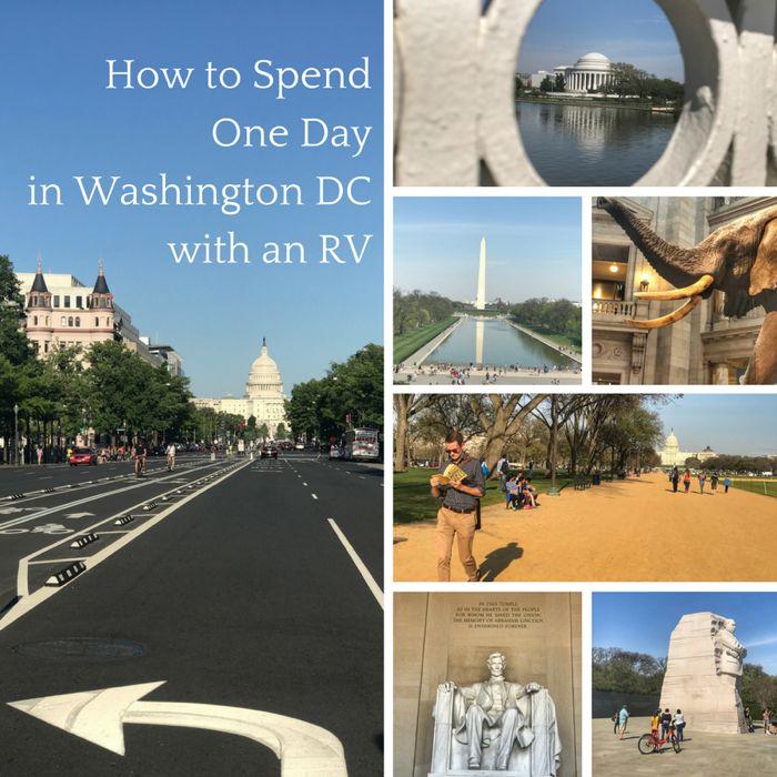 RV Parking & Urban Camping In Washington, DC - Cheddar Yeti