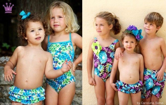Se acerca el verano y no hay nada más bonito que ver a nuestros hijos conjuntados, crea tu propio estilo.