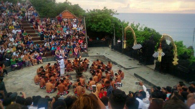 Kecak dance, bali, indonesia