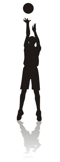 Here's a way to help your small/young/older basketball players improve their shot.