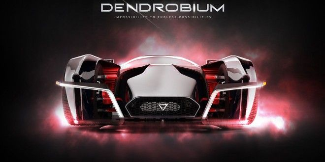Singapore to Create First Hypercar: The 1500hp, All-electric Dendrobium