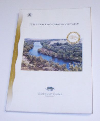 """Greenough River Foreshore Assessment"" published 2001."
