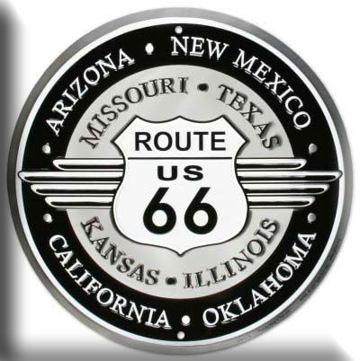 route 66 - not a destination, a way to get there and see a lot on the way - KICKS