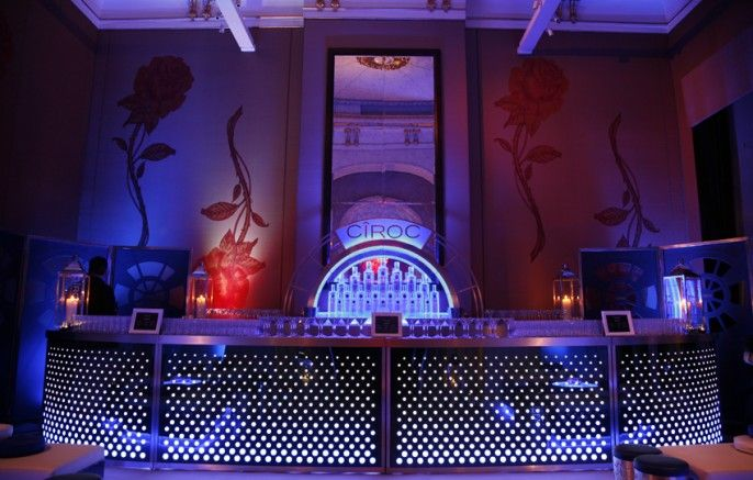 The Honest Group | Ciroc Bar | Temperley  Filofax Party
