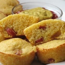 Corn Dog Muffins - I slice the hot dogs so there's more throughoutCorndog Muffins, Kid Lunches, Grain Free, Corn Dogs Muffins, Almond Flour, Paleo Kids, Coconut Flour, Paleo Recipes, Hot Dogs