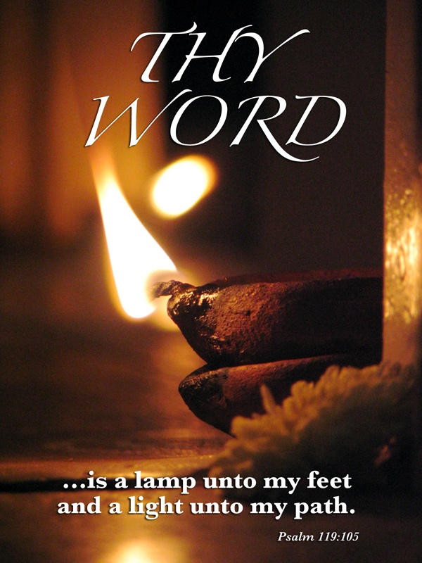 Charming Thy Word Is A Lamp Unto My Feet, And A Light Unto My Path.