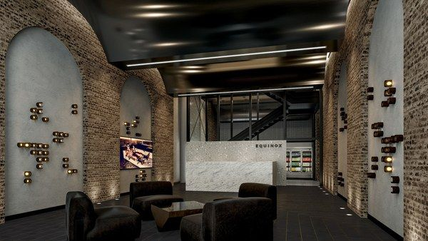 Equinox Bond Street, the brand's 30th NYC location, is a 29,000-square-foot club that occupies four floors at the corner of Broadway and Bond Street, a former manufacturing building that dates back to 1873. The club also features details that amplify key architectural elements of the space, including brick archways in the reception, exposed brick, an original façade, and soaring 18-foot ceilings. For the first time, the brand engaged architect Kara Mann to create these spaces. equinox.com
