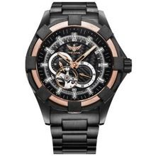YELANG V1008 self luminous mens steel strap sapphire mirror waterproof 100m sport automatic mechanical watch military