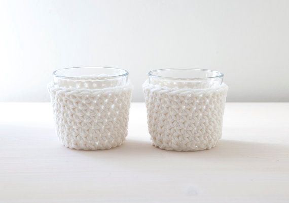 Set of two tea light holders - Made by Home Sweet Home Design (Etsy shop)