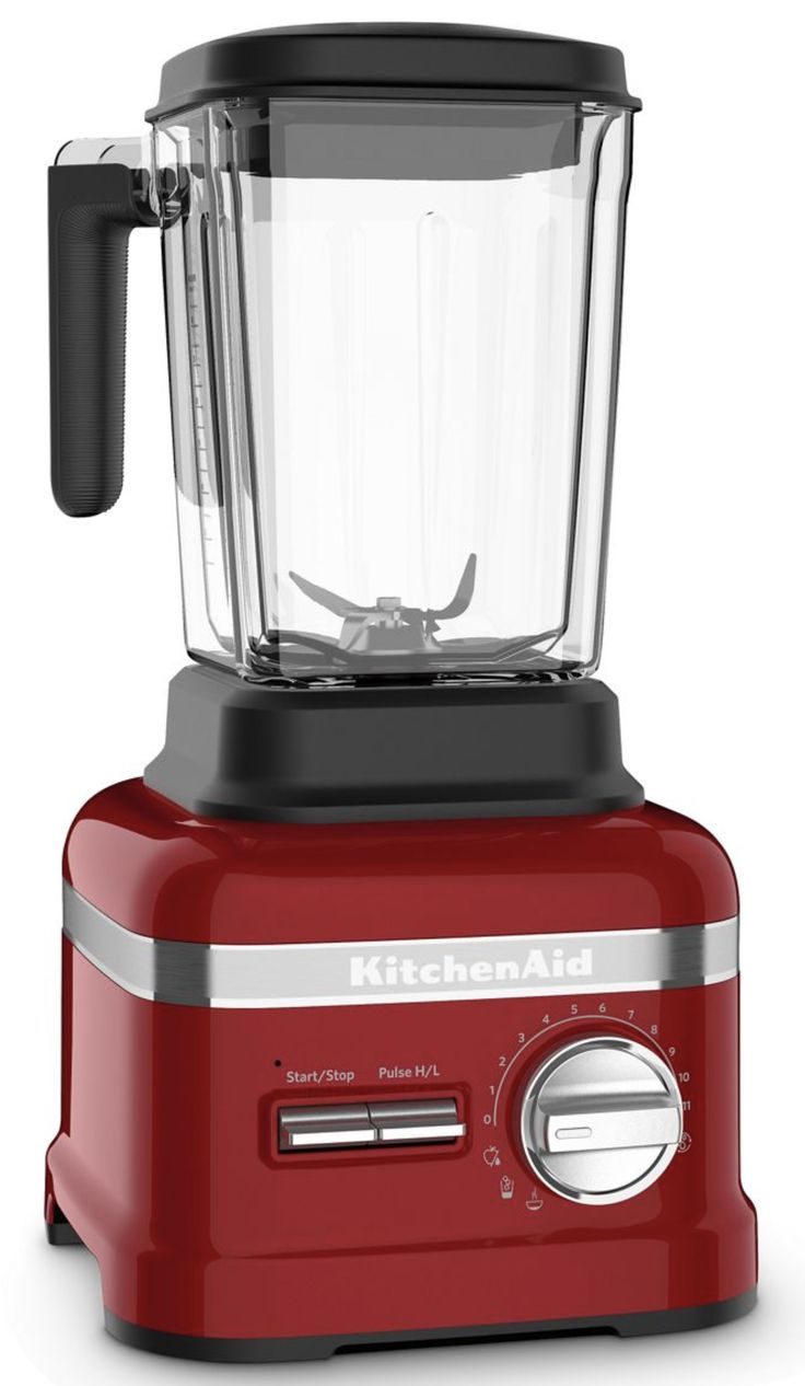 Candy apple red pro line series blender with thermal