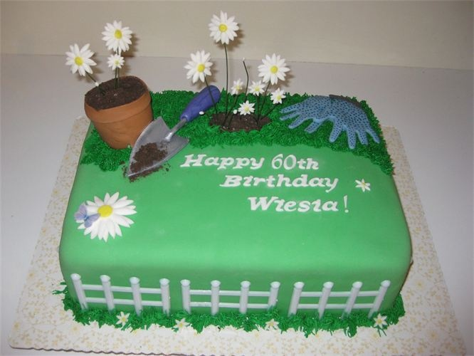 17 best images about cake retirement on pinterest garden for Gardening 60th birthday gifts