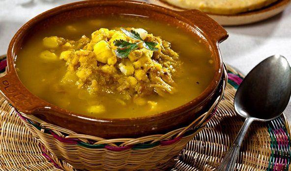 Mute Santandereano. Esta sopa típica de la región se caracteriza por la riqueza de ingredientes