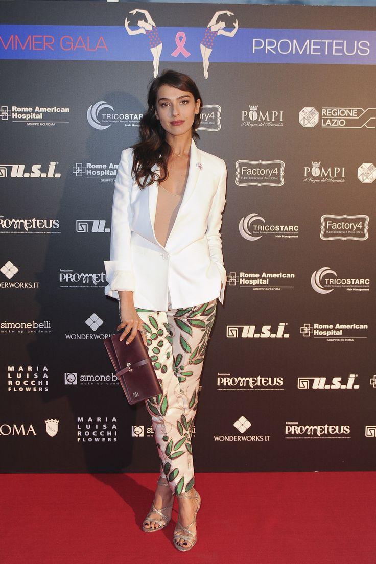 Stella Egitto in Mantù al Summer Gala del 09.06.16 a Roma in onore di Prometeus Onlus, lotta al tumore al seno.