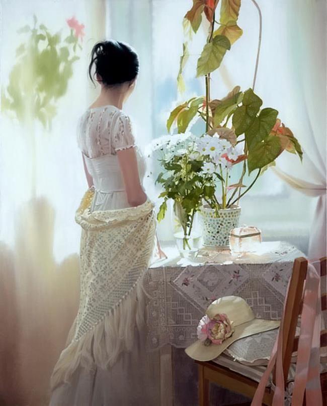 Beautiful -  oil painting - Andrei Belichenko