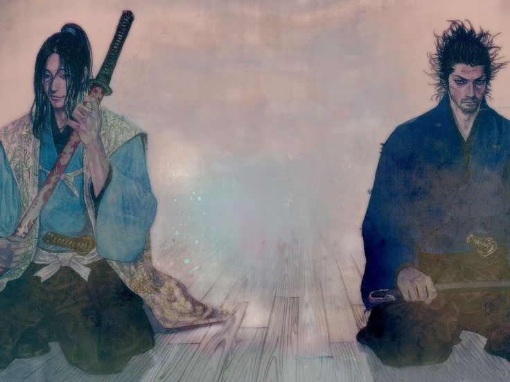Musashi Miyamoto and Kojiro Sasaki -- an eternal rival