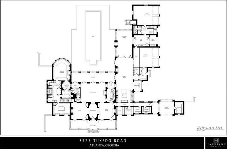199 best house floor plans images on pinterest Atlanta home plans