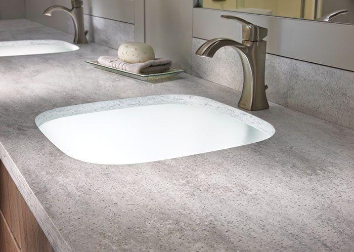 Best 25 corian countertops ideas on pinterest solid - Solid surface bathroom countertops ...