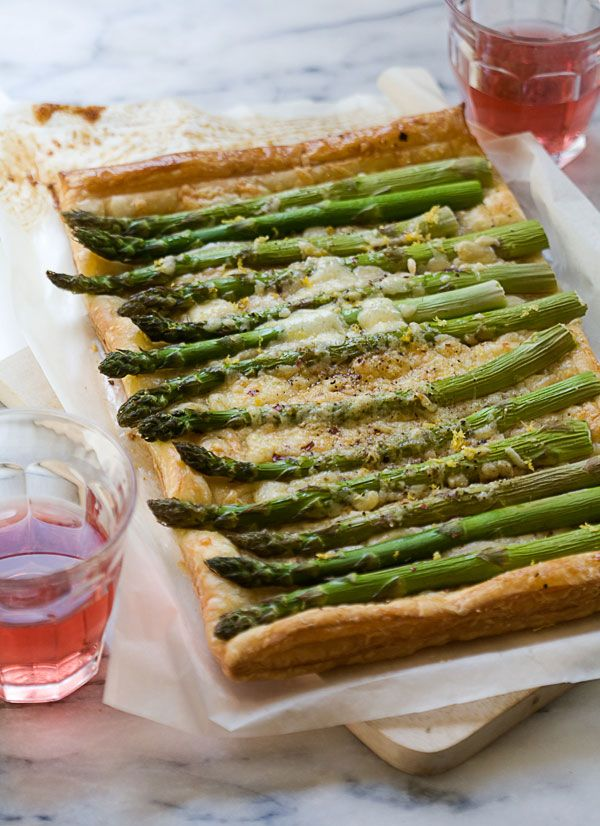 Ugh, this Asparagus Tart better be magically in my kitchen when I get home.