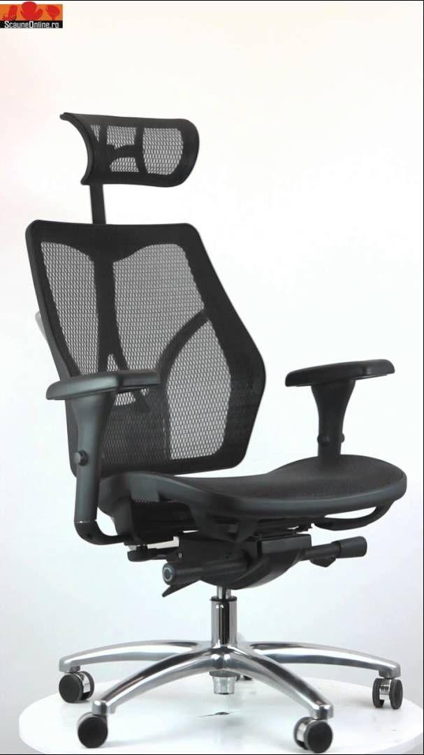 Review video pentru scaun ergonomic off 911