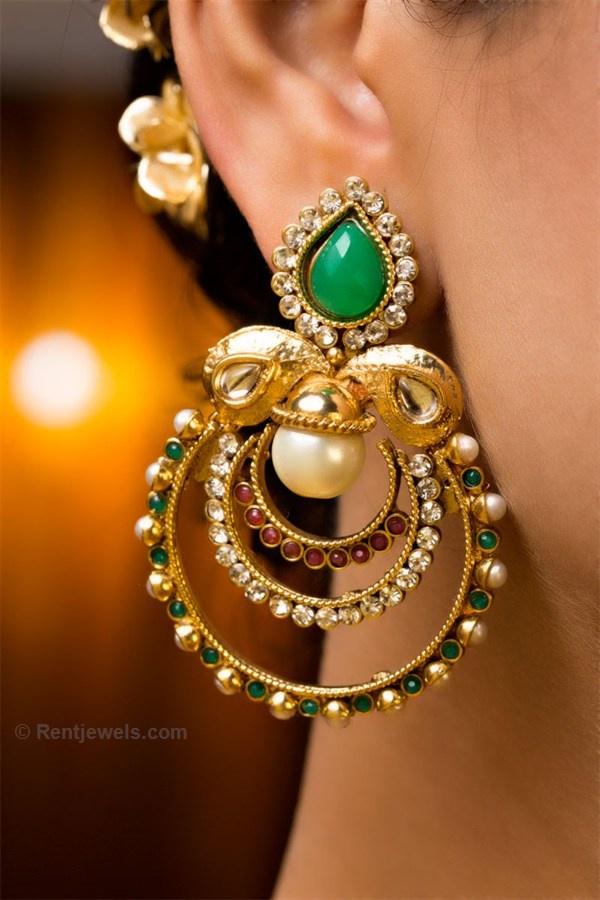 earrings indian jewelry