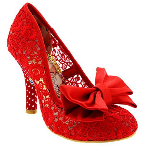 Womens Irregular Choice Mal E Bow Evening Party Bow Floral High Heels - Red - 7 Irregular Choice http://smile.amazon.com/dp/B00WF0NI7K/ref=cm_sw_r_pi_dp_Nsrovb0CG5884