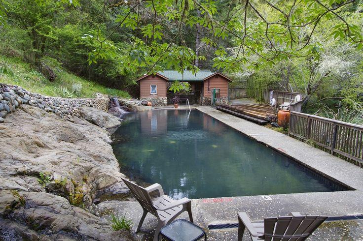 Cold Pool - Orr Hot Springs Resort, ukiah!   plans in 2019 ...