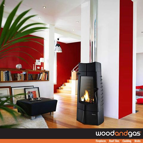 With a Small footprint, the #Invicta #Chamane stove offers high heating capacity and high energy performance. A real concentrate of efficiency. Available at all #WoodandGas branches. http://goo.gl/VFERzk