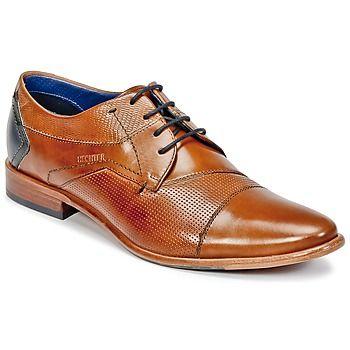 Le derby Lamendo est l'un des plus populaires de la gamme citadine de la marque Daniel Hechter. Le choix du coloris s'est porté sur le marron pour un modèle à la silhouette moderne. Raffinement et qualité : rien n'échappe à la marque qui le pare d'une tige en  et d'une semelle extérieure en cuir.   Décidément, il assure sur tous les tableaux pour plaire aux hommes ! - Couleur : Marron - Chaussures Homme 129,00 €