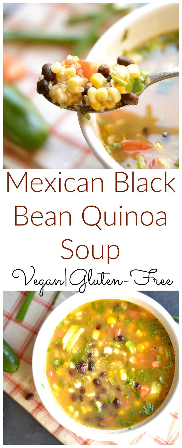 Simple, delicious, and nutritious soup! One of my favorite lunch recipes!