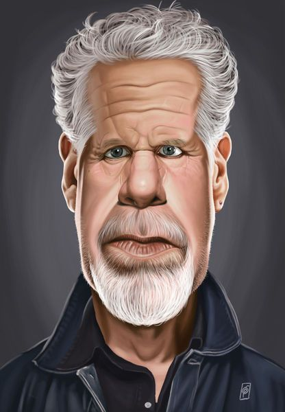 'Celebrity Sunday - Ron Perlman' by rob-art on artflakes.com as poster or art print $14.38 art | decor | wall art | inspiration | caricatures | home decor | idea | humor | gifts