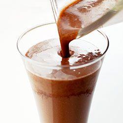 Kakaowo-kawowe bananowe smoothie | Kwestia Smaku