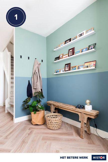 25 beste idee n over hal kleuren op pinterest hal verfkleuren woonkamer verf en keuken verf - Decoratie entree van hal ...