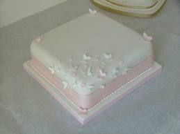 single tier square wedding cake designs with cupcakes – Google Search – CAKE!!