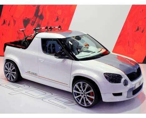 The Skoda Yeti ETAPE is Designed for Extreme Urbanite