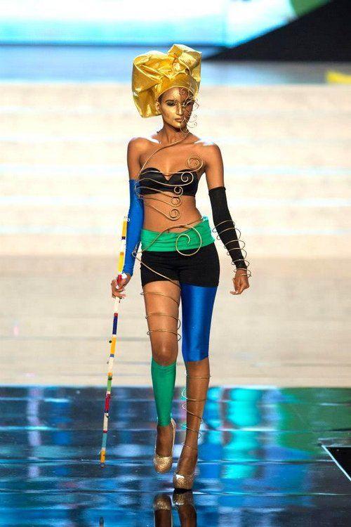 Miss Universe National Costume 2012 -- Miss Tanzania