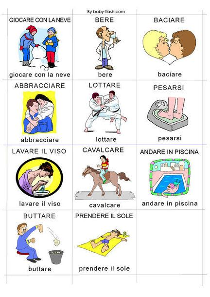 #Verbi #Italian #Language                                                                                                                                                                                 Más