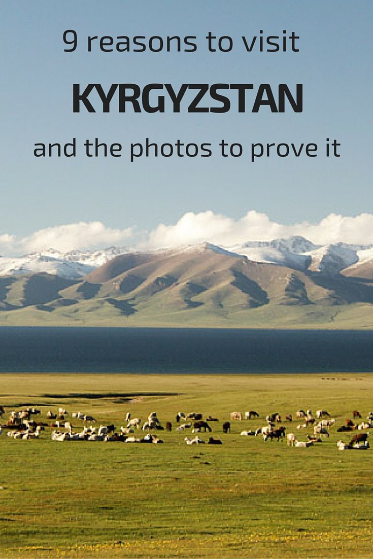9 reasons to visit the Central Asia country of Kyrgyzstan - and the photos to prove it!